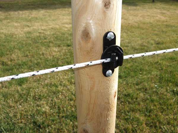 Fiberglass Fence Posts Installation